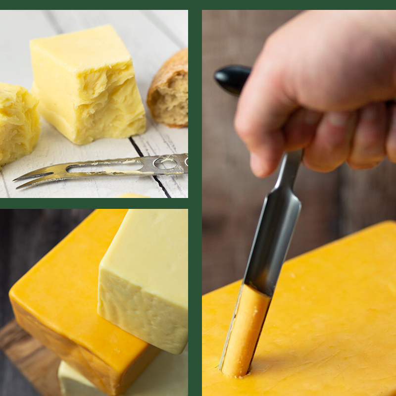 Collage of Deli-block Cheese from Spinneyfields