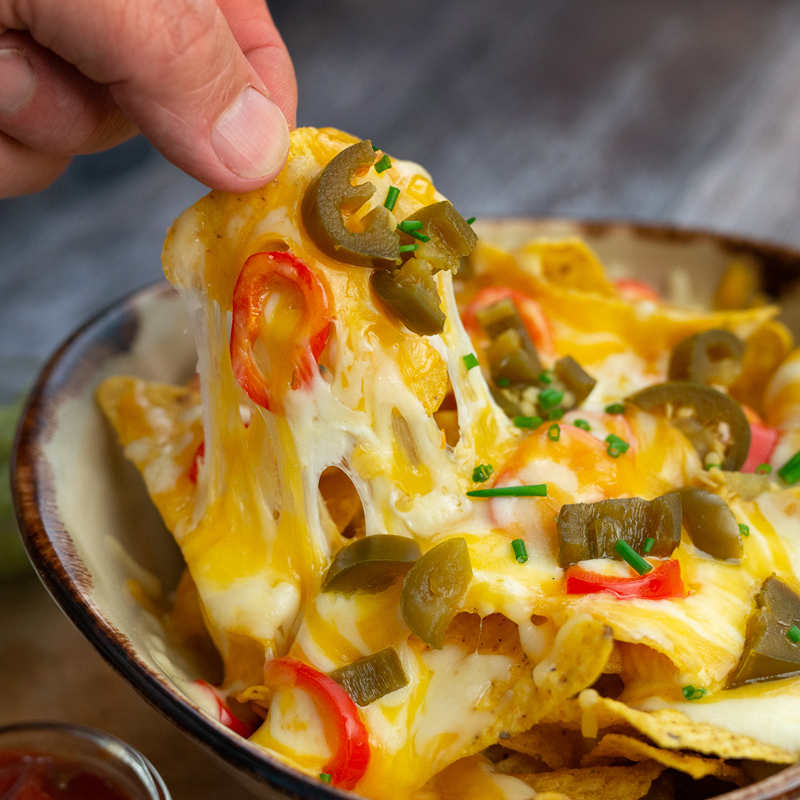 Consistent Shred Cheese - perfect for nachos and pizzas
