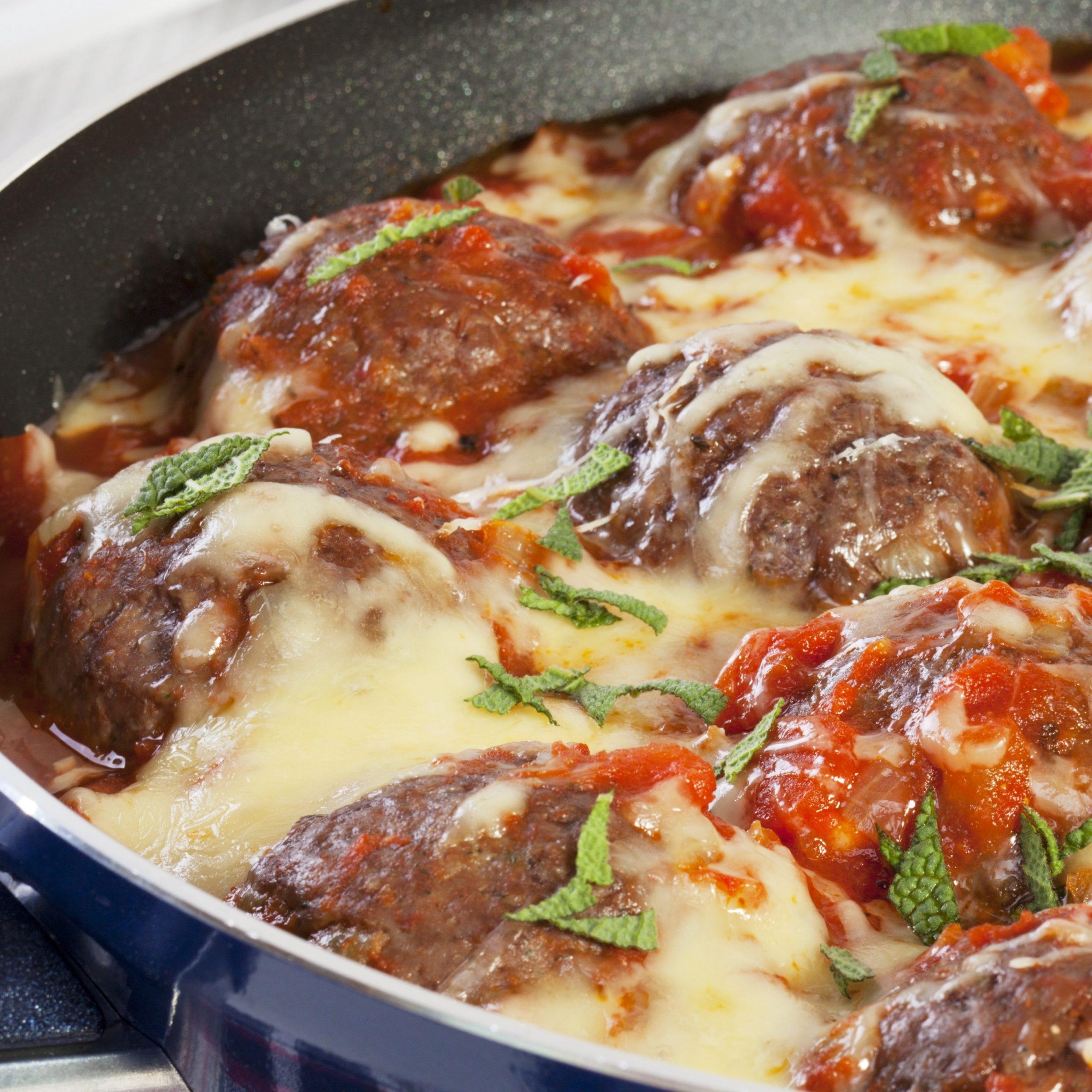 Spinneyfields Cheesy Meatballs